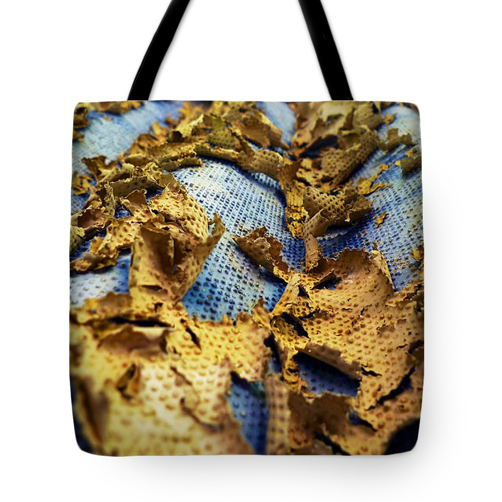 Abstract Tote Bag featuring the photograph 377 At 41 Series 2 by Skip Hunt