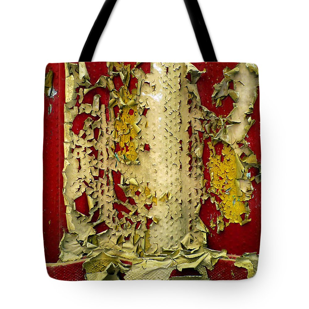 Abstract Tote Bag featuring the photograph 377 At 41 Series 5 by Skip Hunt