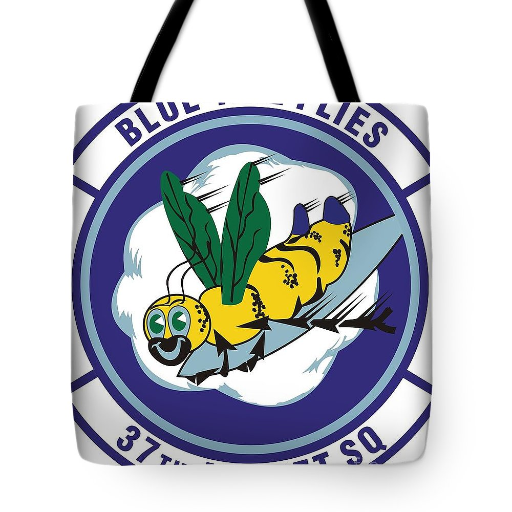 Langley Afb Virginia Tote Bag featuring the photograph 37th Tactical Airlift Squadron by David Bearden