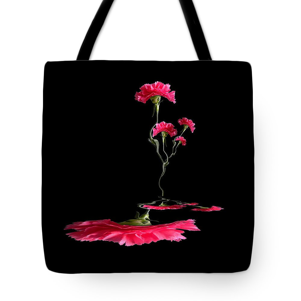 Flowers Tote Bag featuring the photograph 3897 by Peter Holme III