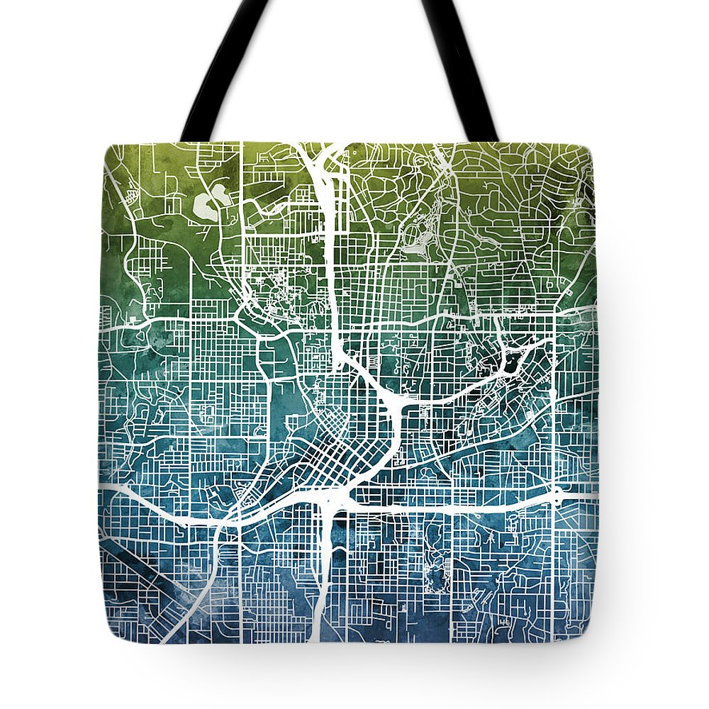City Map Tote Bags