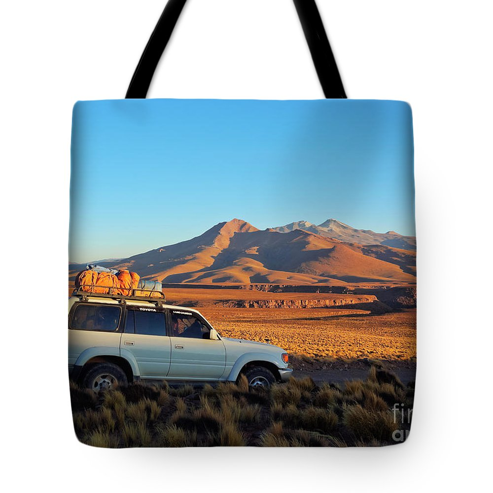 South America Tote Bag featuring the photograph Bolivia by Karol Kozlowski