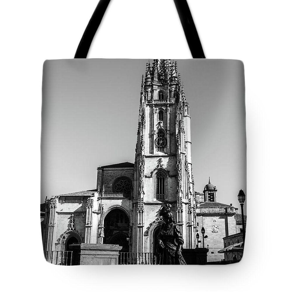 Spain Tote Bag featuring the photograph Cathedral by Ric Schafer