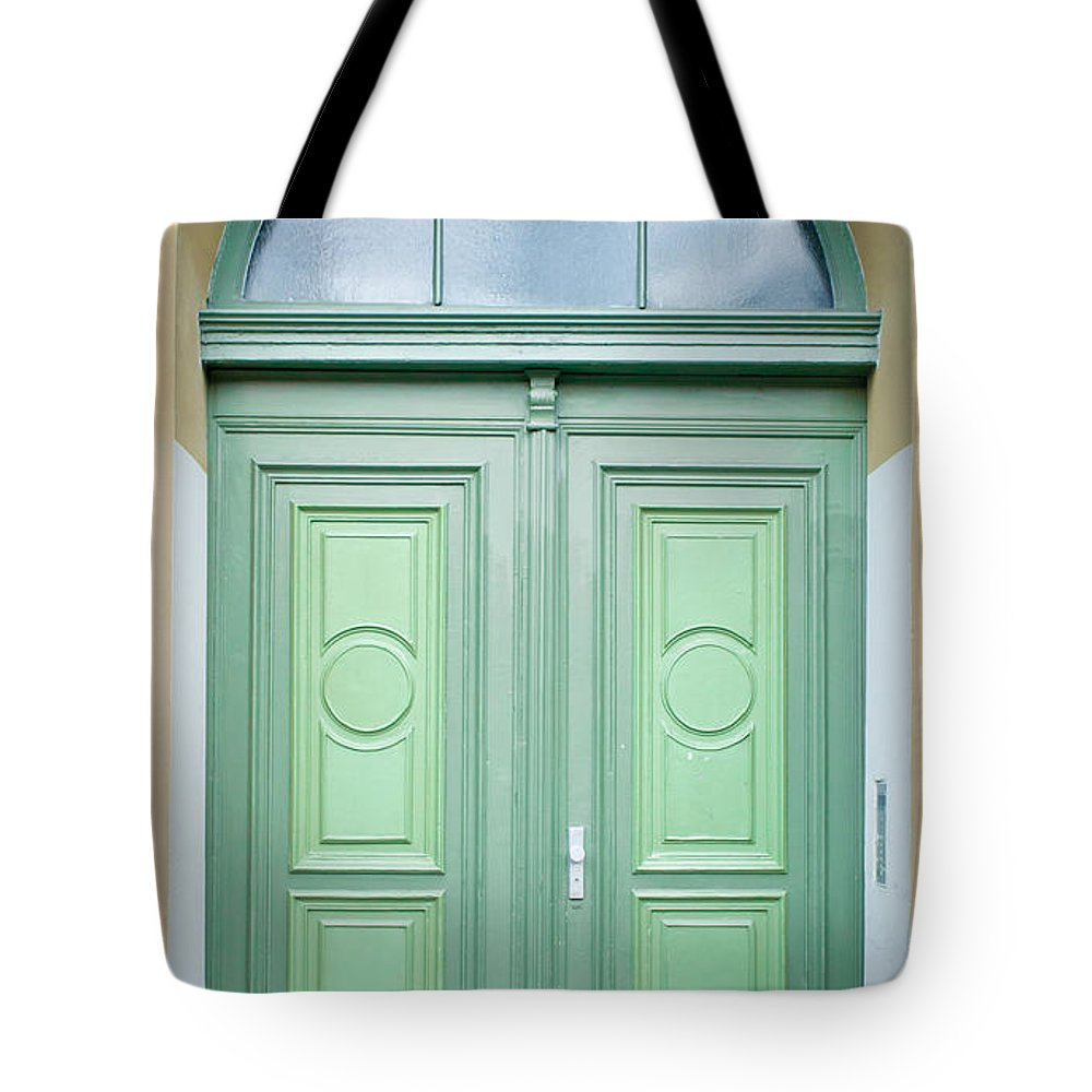 Address Tote Bag featuring the photograph Doorway by Tom Gowanlock