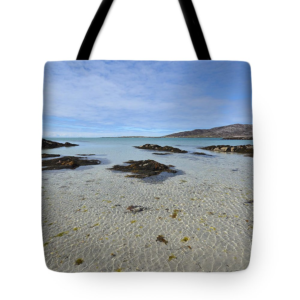 Eriskay Tote Bag featuring the photograph Eriskay by Smart Aviation