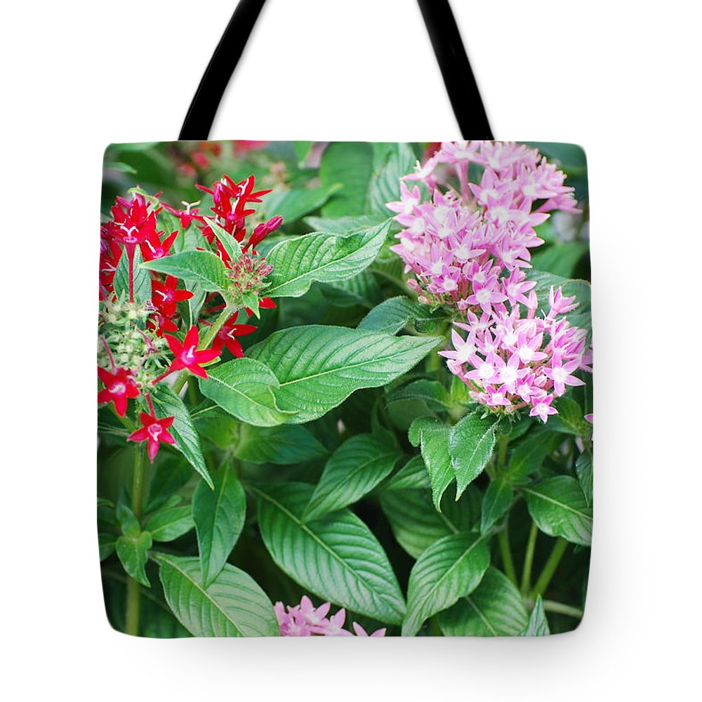 Flowers Tote Bag featuring the photograph Flowers by Rob Hans