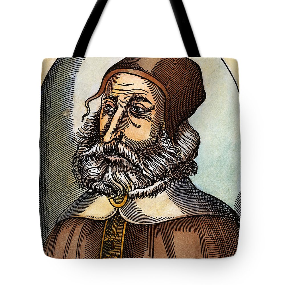 2nd Century Tote Bag featuring the drawing Galen, 129-c200 A.d. by Granger
