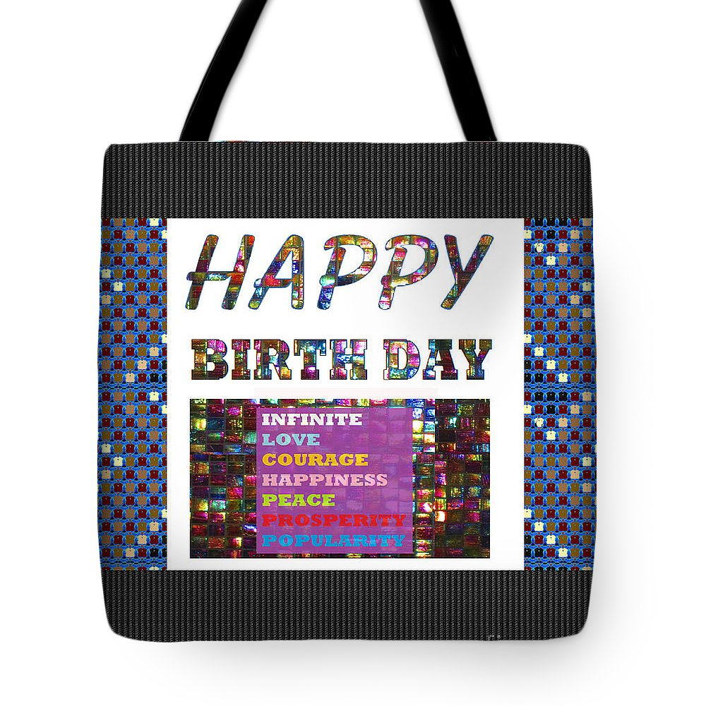 Happy Birthday Greeting Cards Pillows Curtains Phone Cases Tote Bags