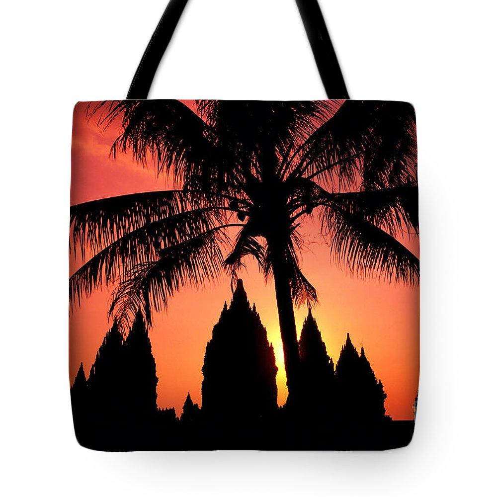 Ancient Tote Bag featuring the photograph Java, Prambanan by Gloria & Richard Maschmeyer - Printscapes