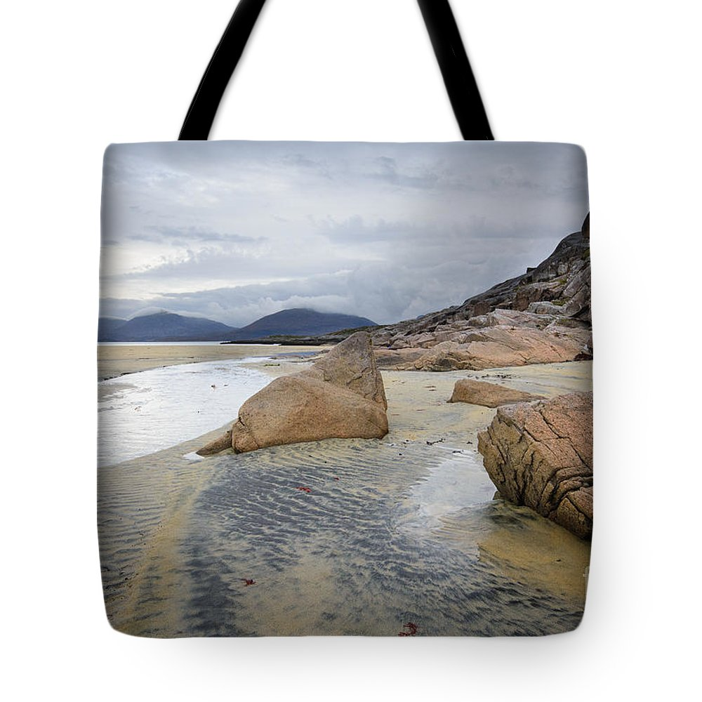 Isle Of Harris Tote Bag featuring the photograph Luskentyre, Isle Of Harris by Smart Aviation
