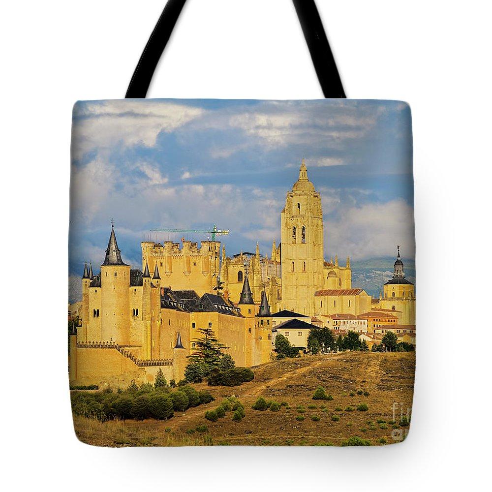 Spain Tote Bag featuring the photograph Segovia, Spain by Karol Kozlowski