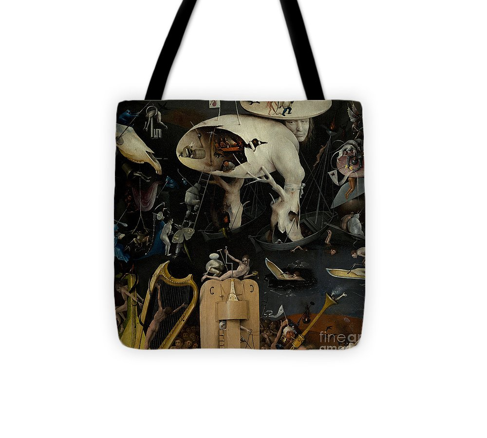 Bosch Tote Bag featuring the painting The Garden Of Earthly Delights by Hieronymus Bosch