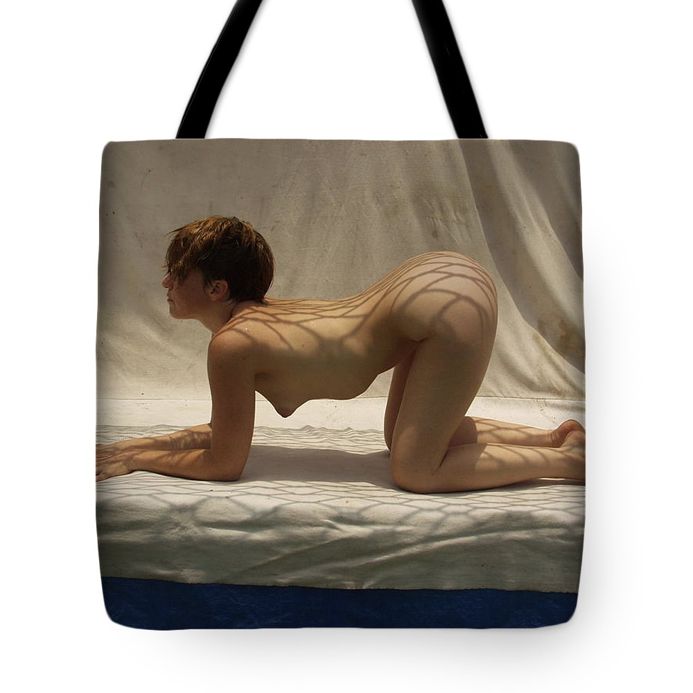 Tote Bag featuring the photograph The Net by Lucky Cole