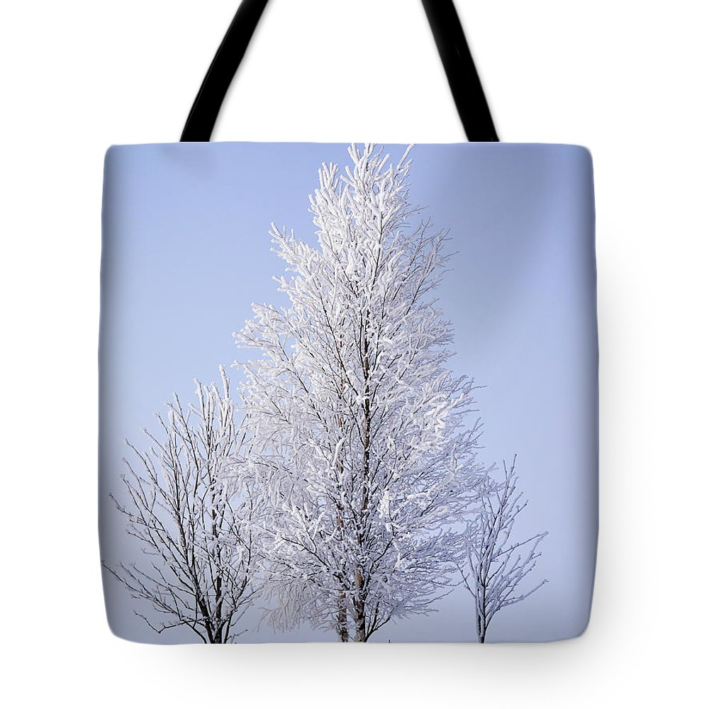 Finland Tote Bag featuring the photograph Winterscape by Jouko Lehto