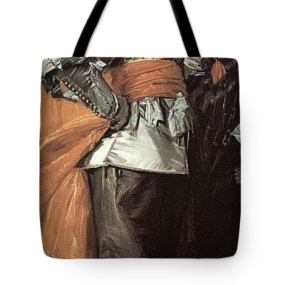 Garment Tote Bag featuring the digital art 43meagr3 Frans Hals by Eloisa Mannion