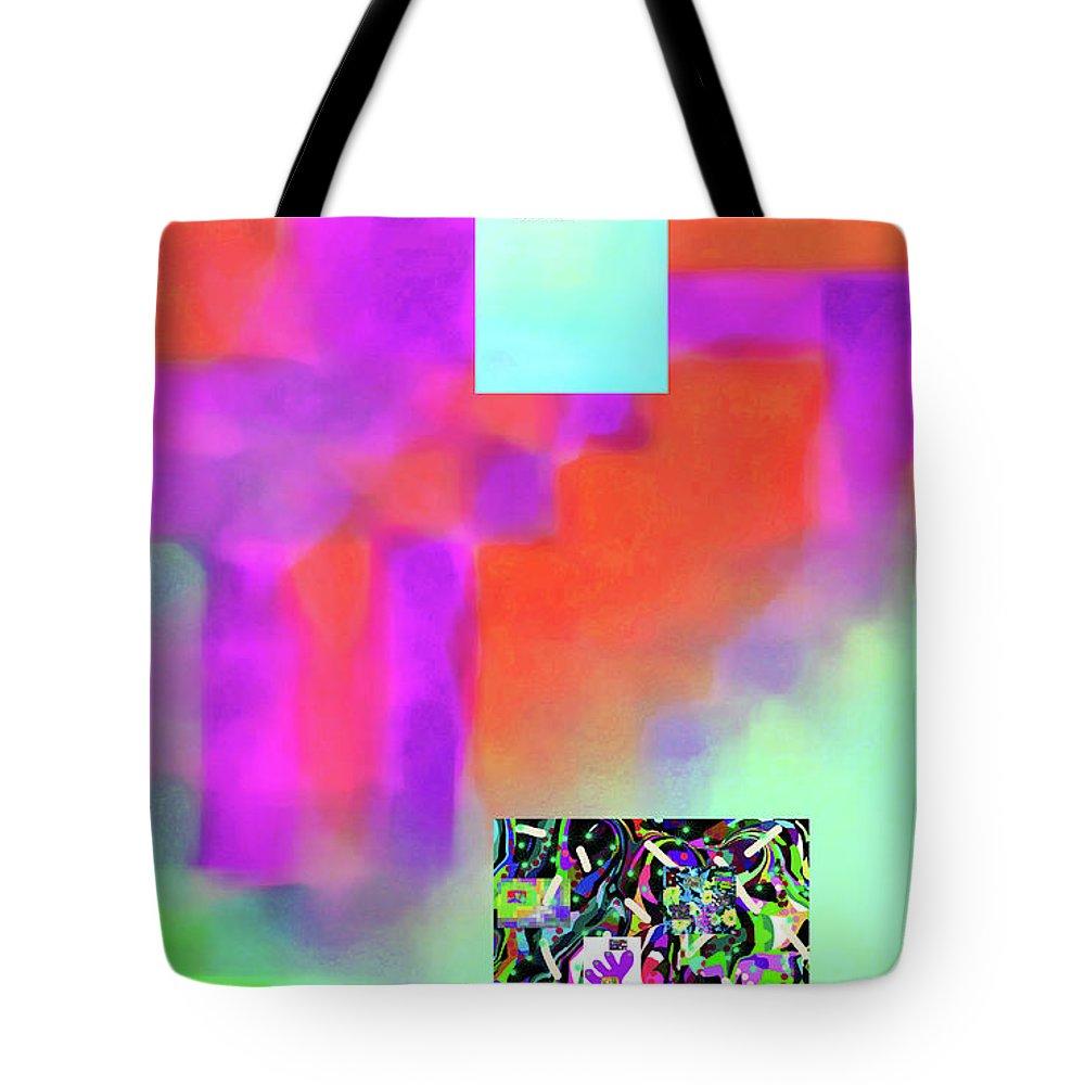 Walter Paul Bebirian Tote Bag featuring the digital art 5-14-2015fabcdefghijklmnopqrtuv by Walter Paul Bebirian