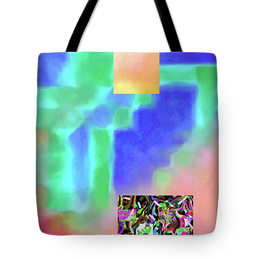 Walter Paul Bebirian Tote Bag featuring the digital art 5-14-2015fabcdefghijklmnopqrtuvwxyzabcdefghij by Walter Paul Bebirian