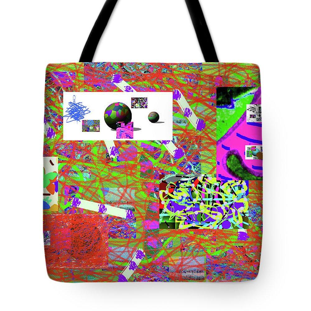 Walter Paul Bebirian Tote Bag featuring the digital art 5-3-2015gab by Walter Paul Bebirian