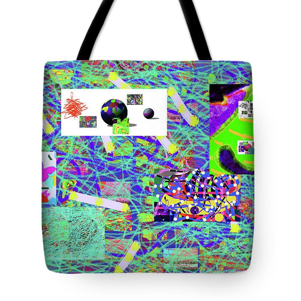 Walter Paul Bebirian Tote Bag featuring the digital art 5-3-2015gabcdefghijklmnopqrtuvwx by Walter Paul Bebirian