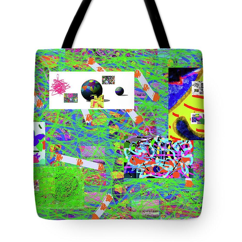 Walter Paul Bebirian Tote Bag featuring the digital art 5-3-2015gabcdefghijklmnopqrtuvwxyzab by Walter Paul Bebirian
