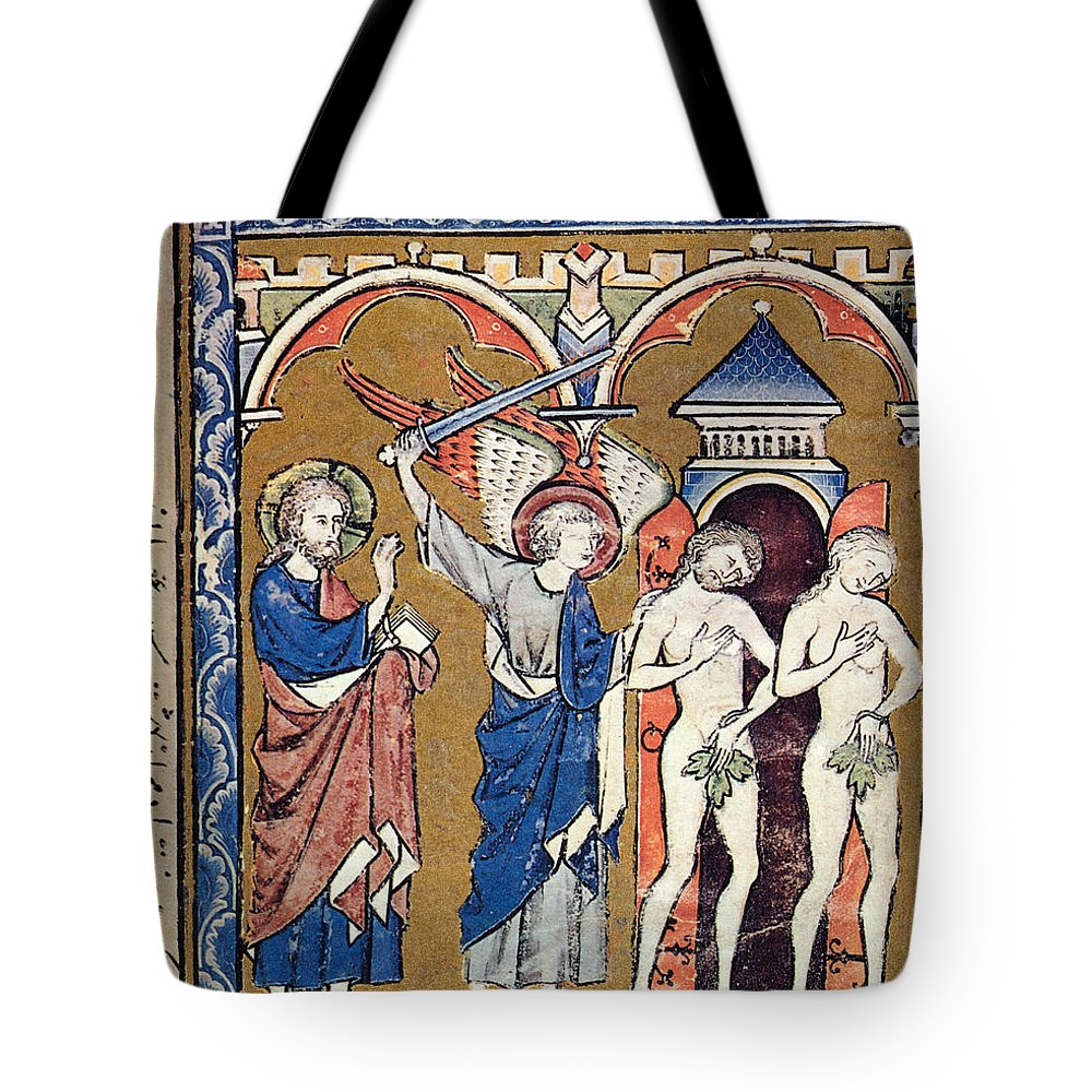 1250s Tote Bag featuring the photograph Adam And Eve by Granger