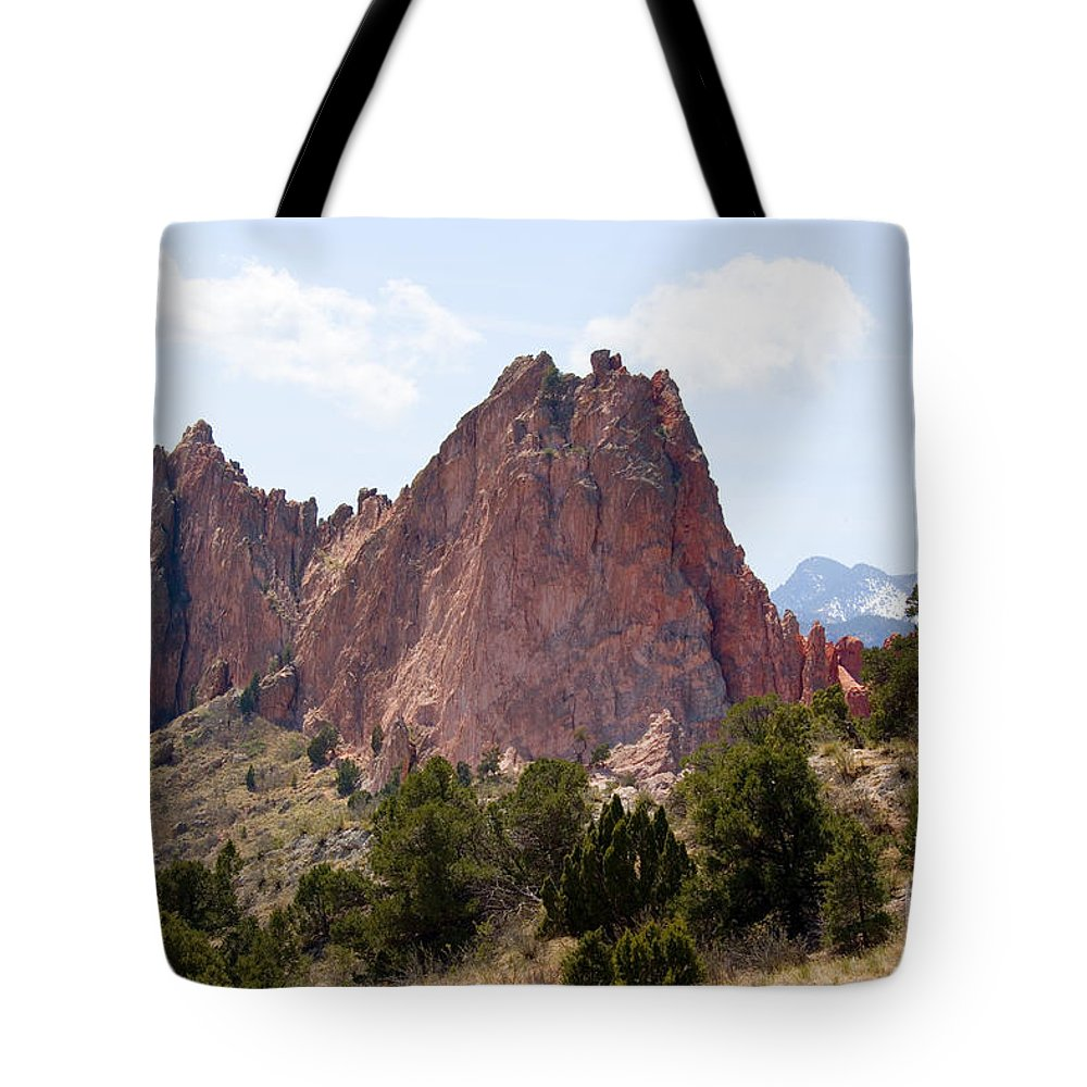 Beautiful Tote Bag featuring the photograph Dakota Trail At Garden Of The Gods by Steve Krull