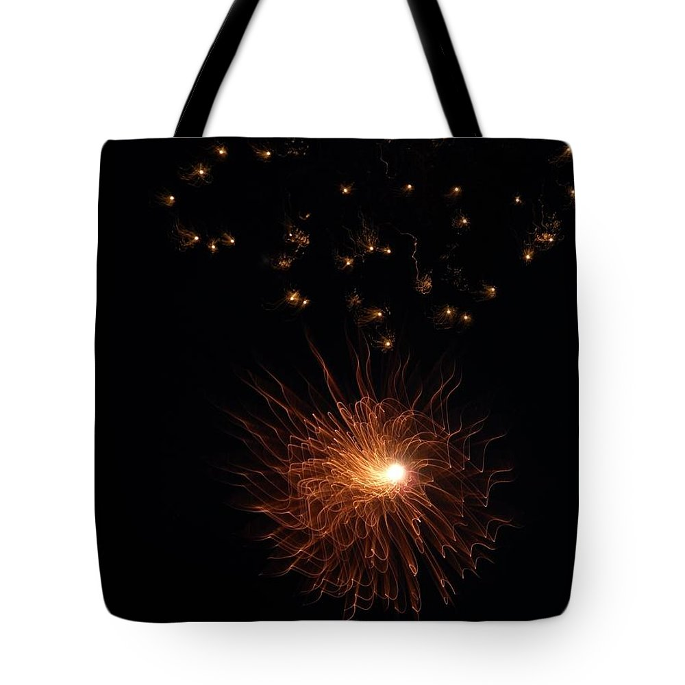 Dark Tote Bag featuring the photograph Entering The Twilight Zone by Faba Fouret