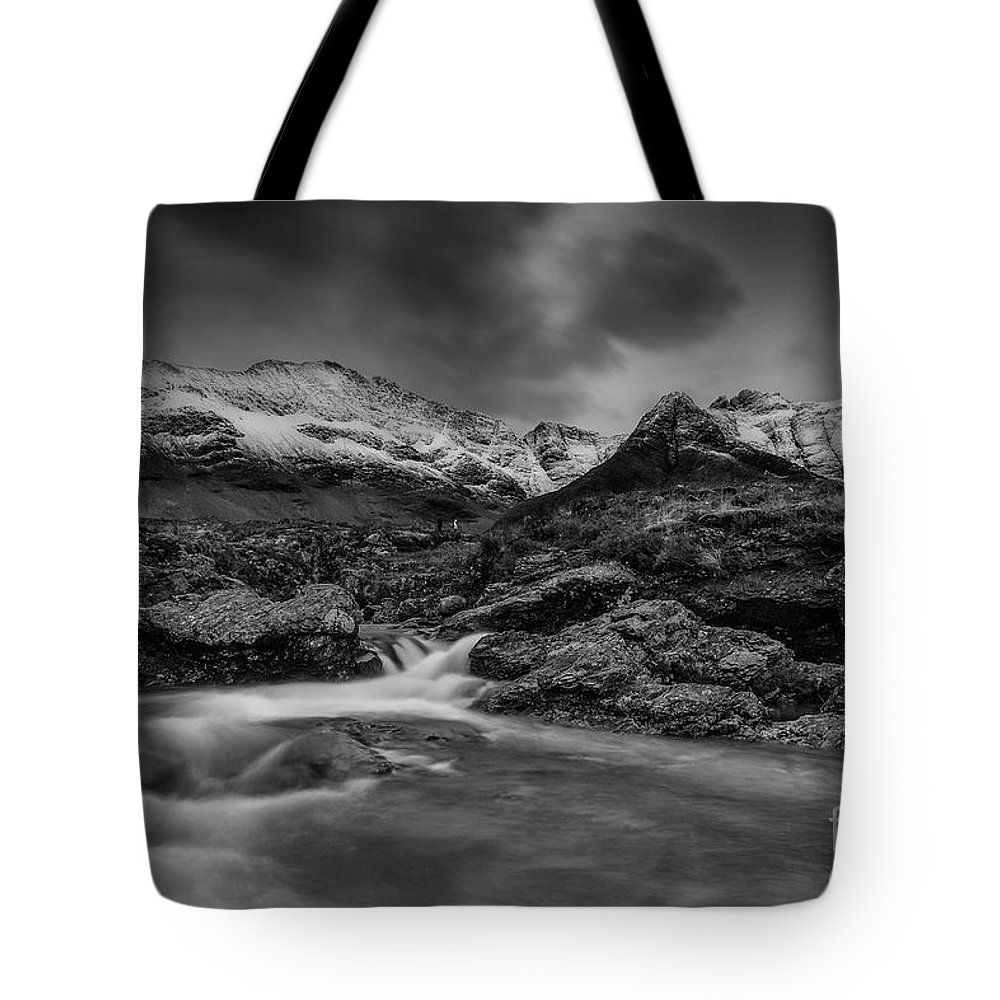 Fairy Pools Tote Bag featuring the photograph Fairy Pools Of River Brittle by Keith Thorburn LRPS EFIAP CPAGB