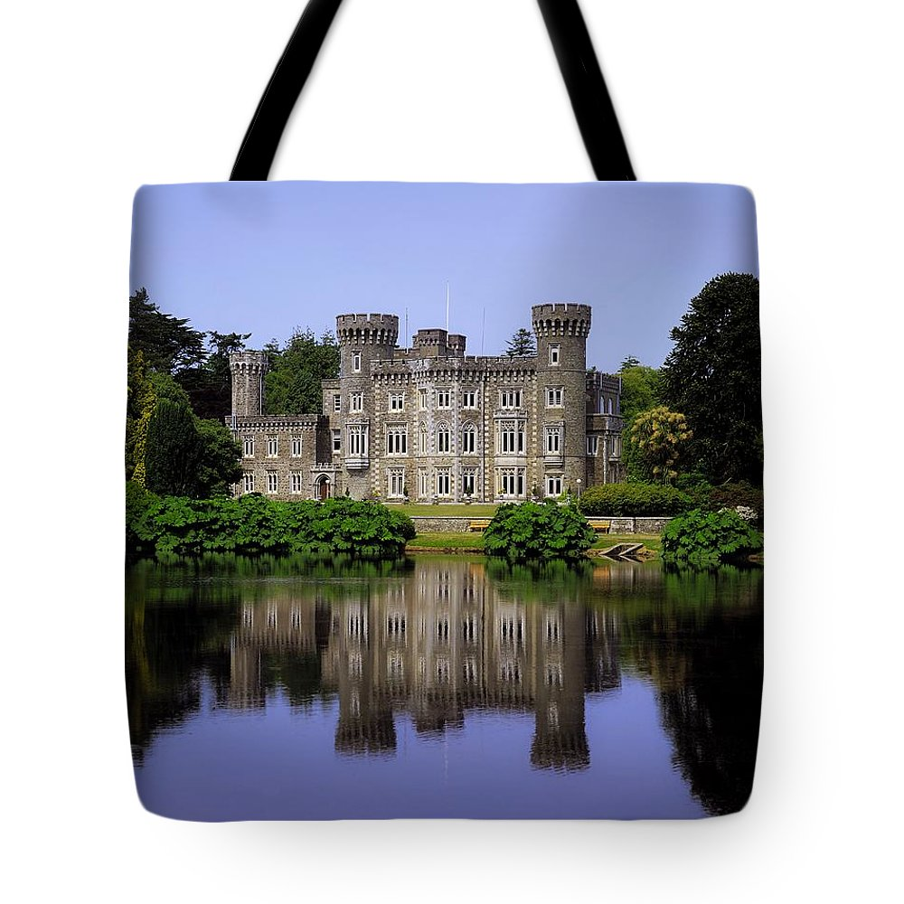 Archaeology Tote Bag featuring the photograph Johnstown Castle, Co Wexford, Ireland by The Irish Image Collection