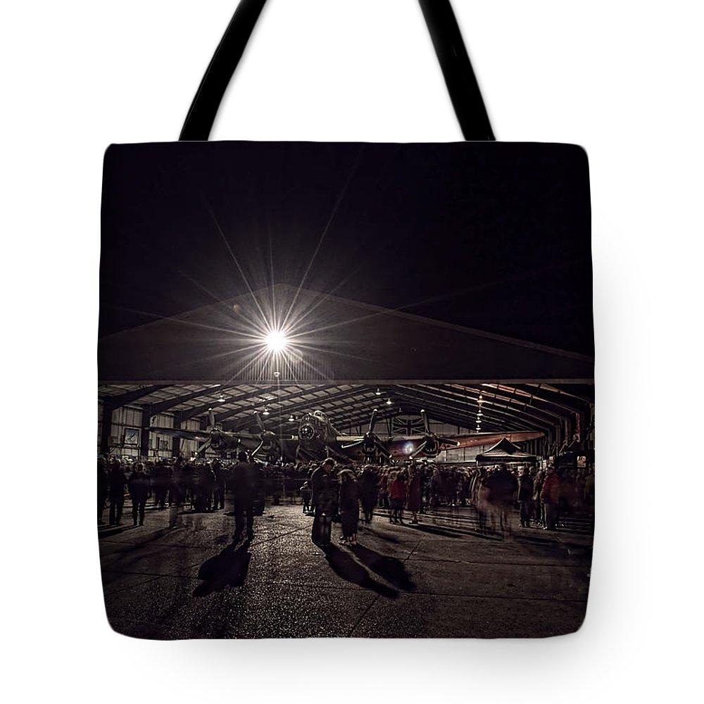 Lancaster Tote Bag featuring the digital art Just Jane by Nigel Bangert