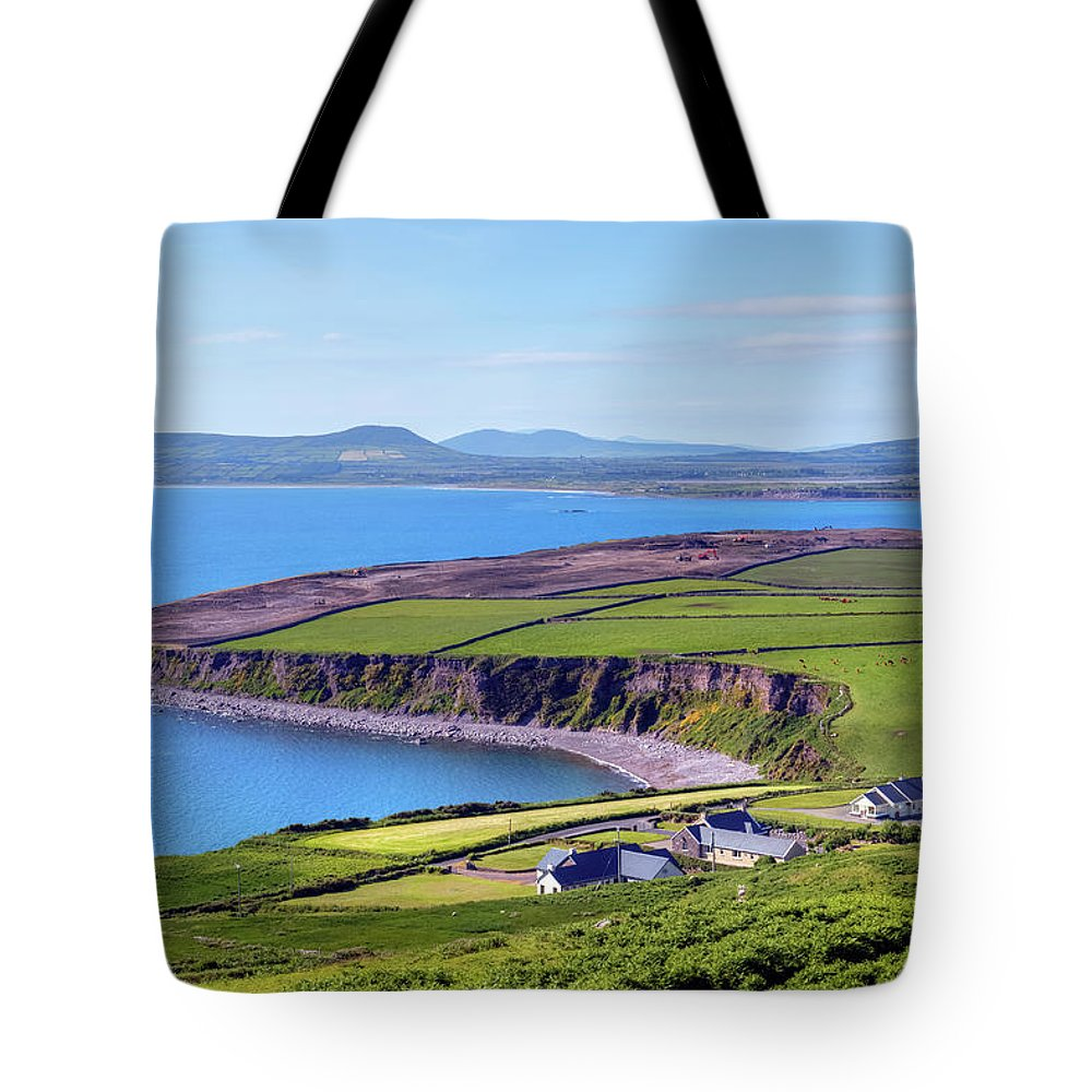 Ballingskelligs Bay Tote Bag featuring the photograph Ring Of Kerry - Ireland by Joana Kruse