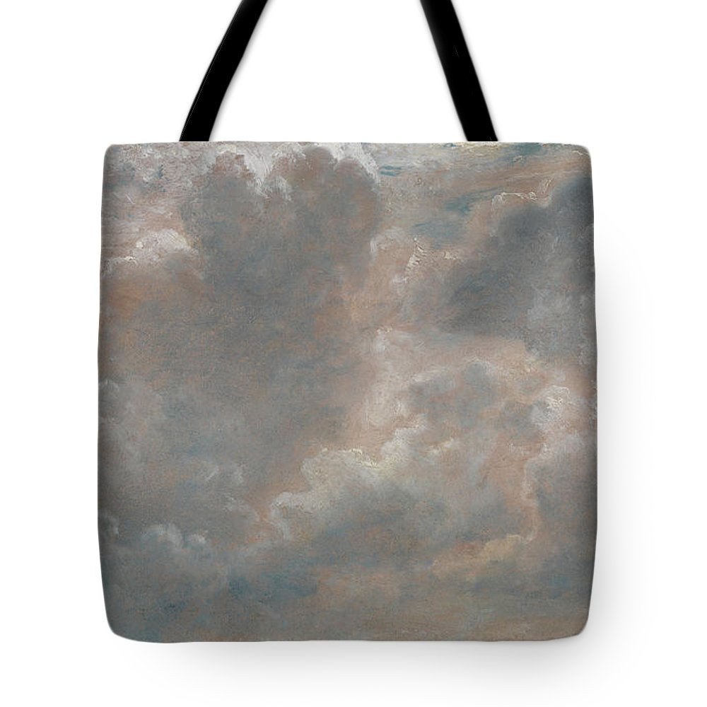 John Constable Tote Bag featuring the painting Title Cloud Study by John Constable