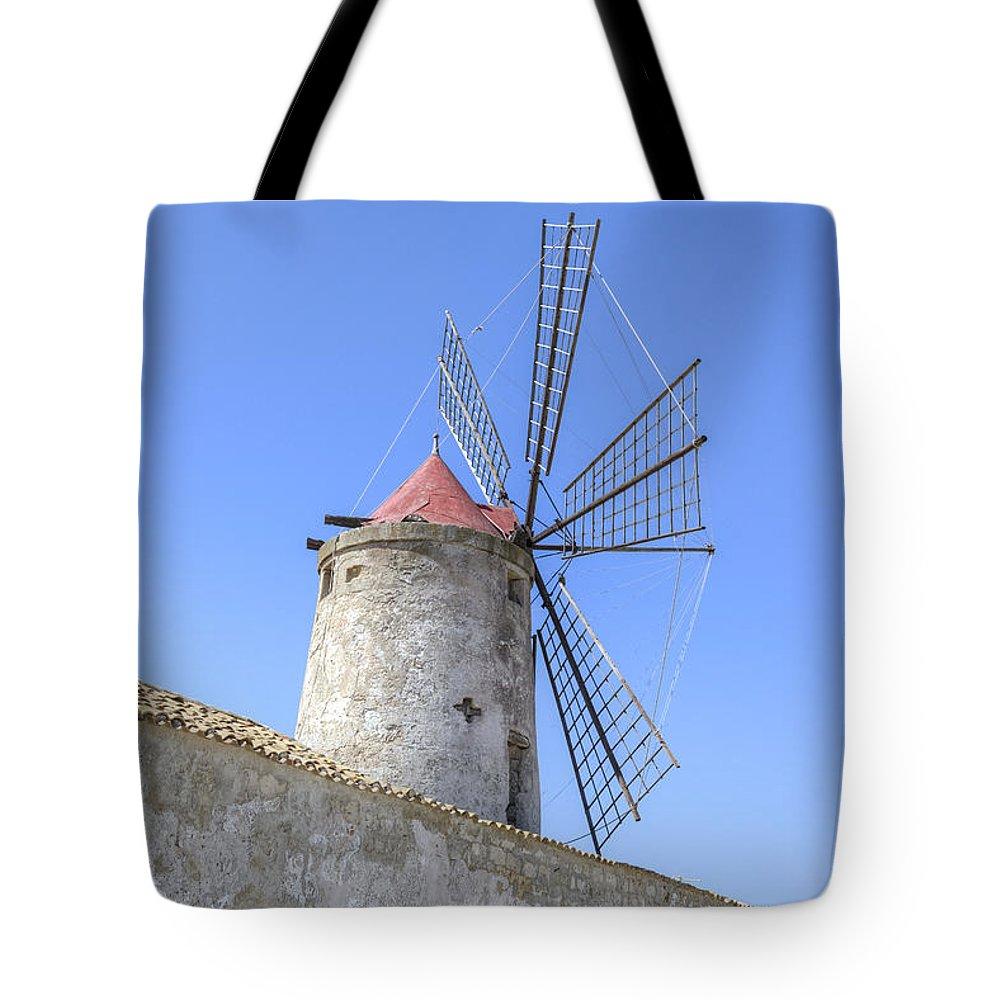 Saline Tote Bag featuring the photograph Trapani - Sicily by Joana Kruse