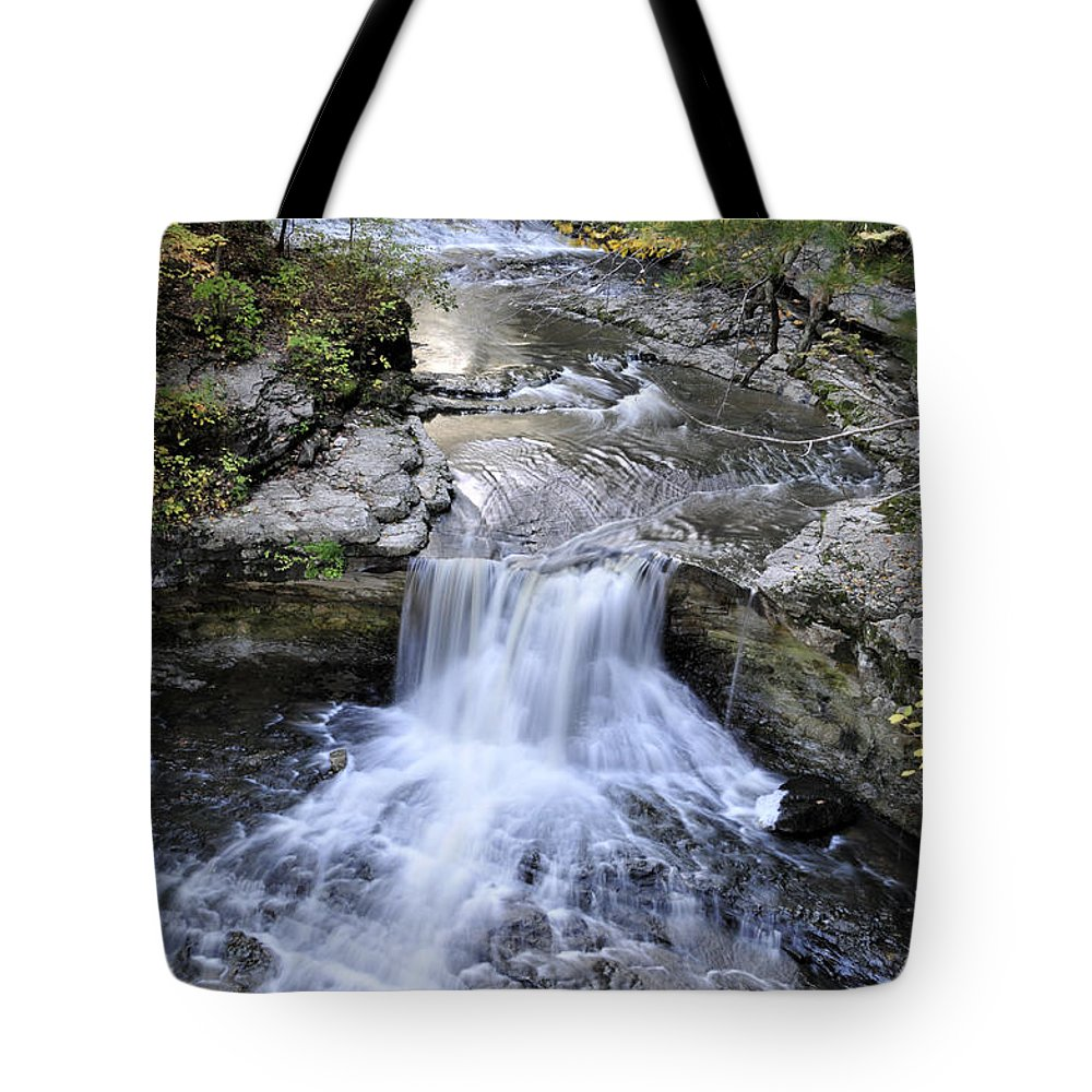 Water Tote Bag featuring the photograph Waterfall by David Arment