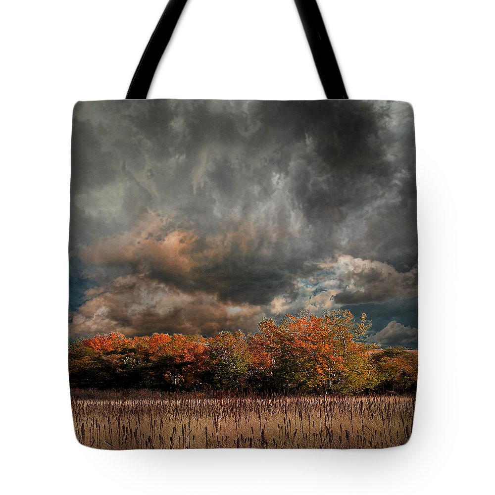 Trees Tote Bag featuring the photograph 4108 by Peter Holme III