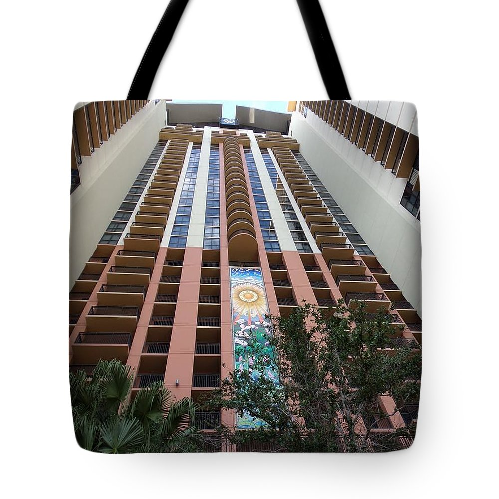 Sos Art Gallery Tote Bag featuring the photograph 55 West Mural by SOS Art Gallery