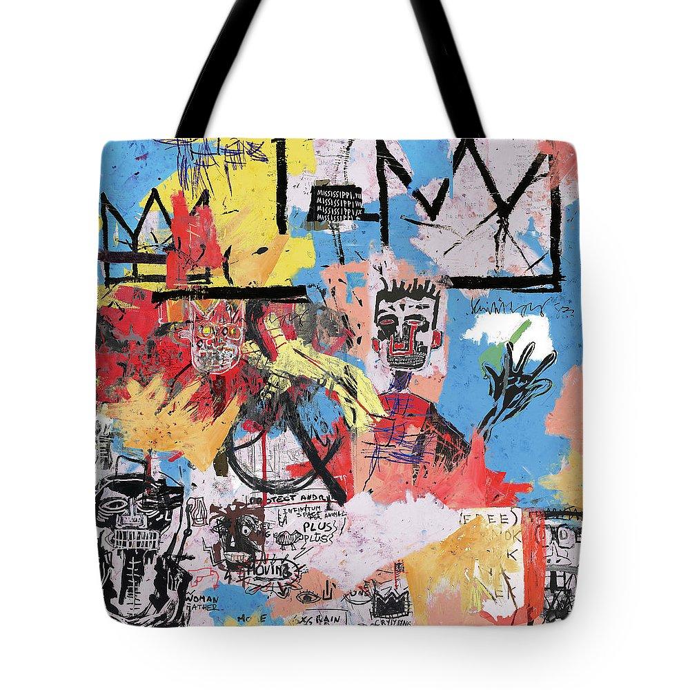 Basquiat Tote Bags