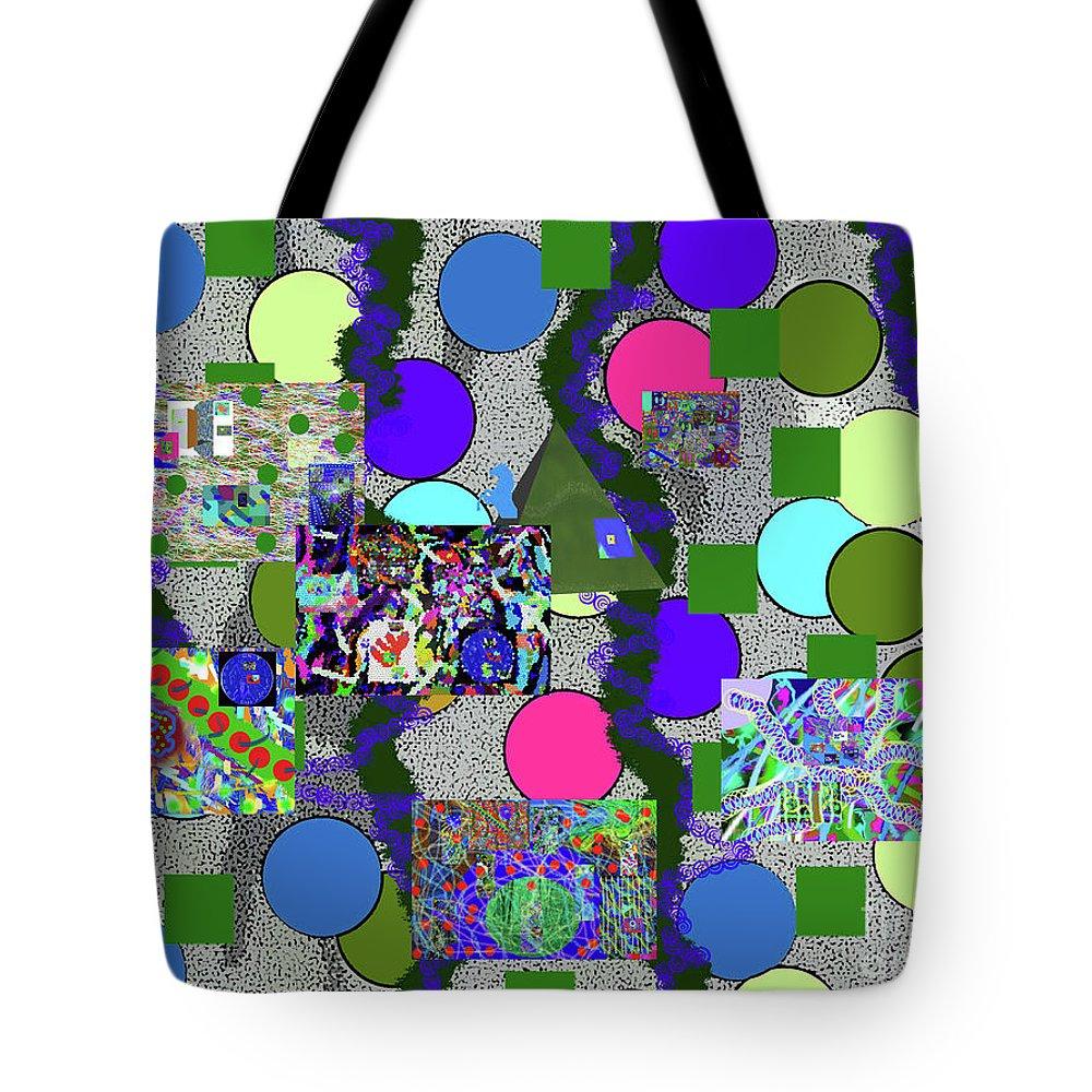 Walter Paul Bebirian Tote Bag featuring the digital art 6-10-2015abcdefghijkl by Walter Paul Bebirian