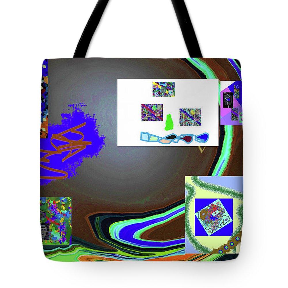 Walter Paul Bebirian Tote Bag featuring the digital art 6-3-2015babcdefghi by Walter Paul Bebirian