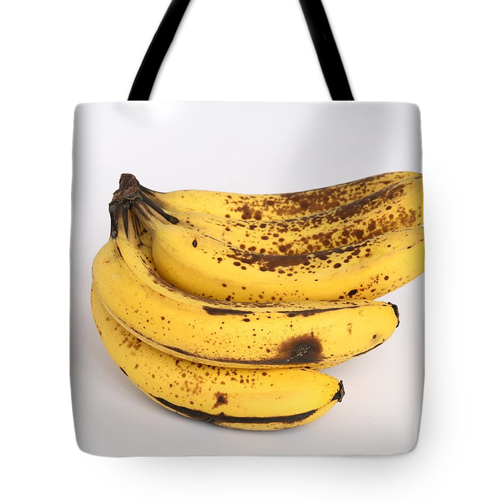 Plant Tote Bag featuring the photograph Banana Ripening Sequence by Ted Kinsman
