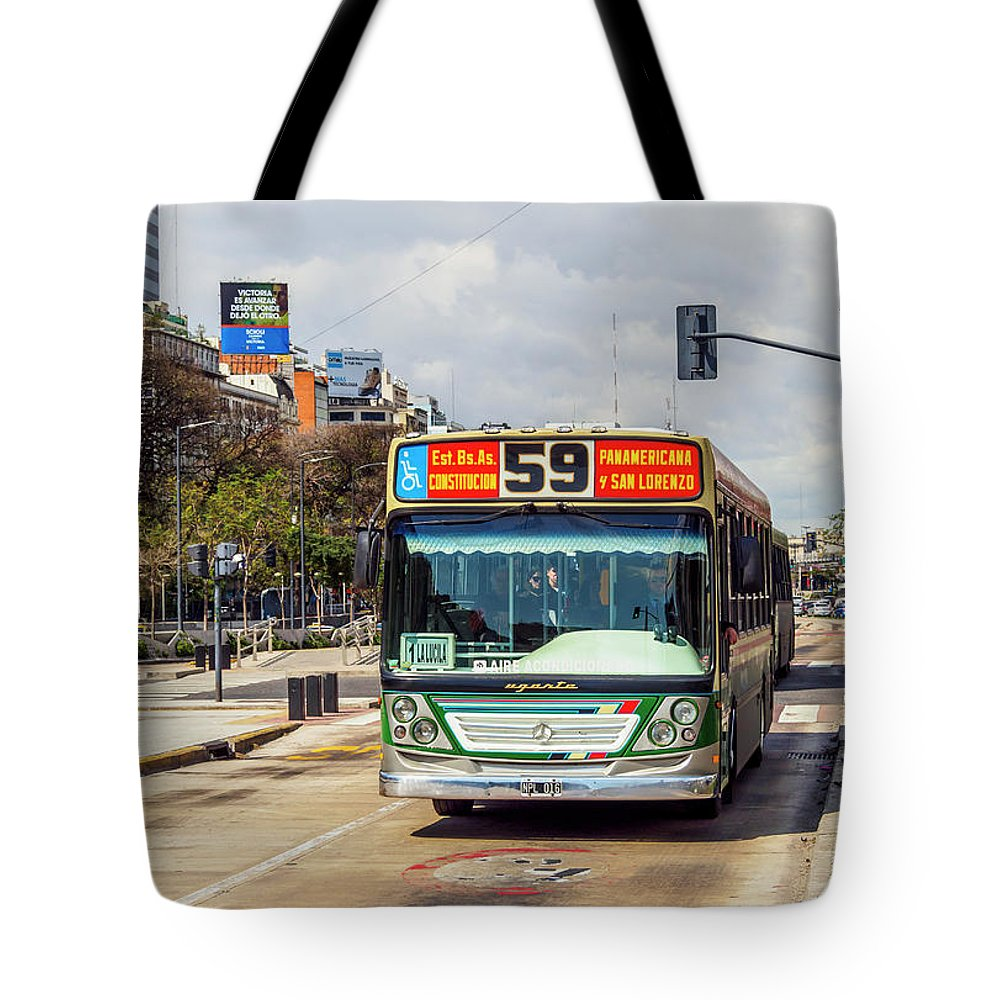 Argentina Tote Bag featuring the photograph Buenos Aires, Argentina by Karol Kozlowski