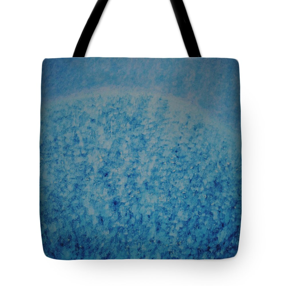 Inspirational Tote Bag featuring the painting Calm Mind by Kyung Hee Hogg