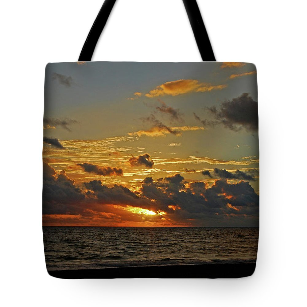 Sunrise Tote Bag featuring the photograph 6- Juno Beach by Joseph Keane