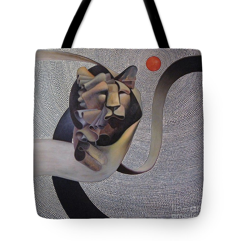 Wii Tote Bag featuring the painting Kingdom Of Heaven by Riek Jonker
