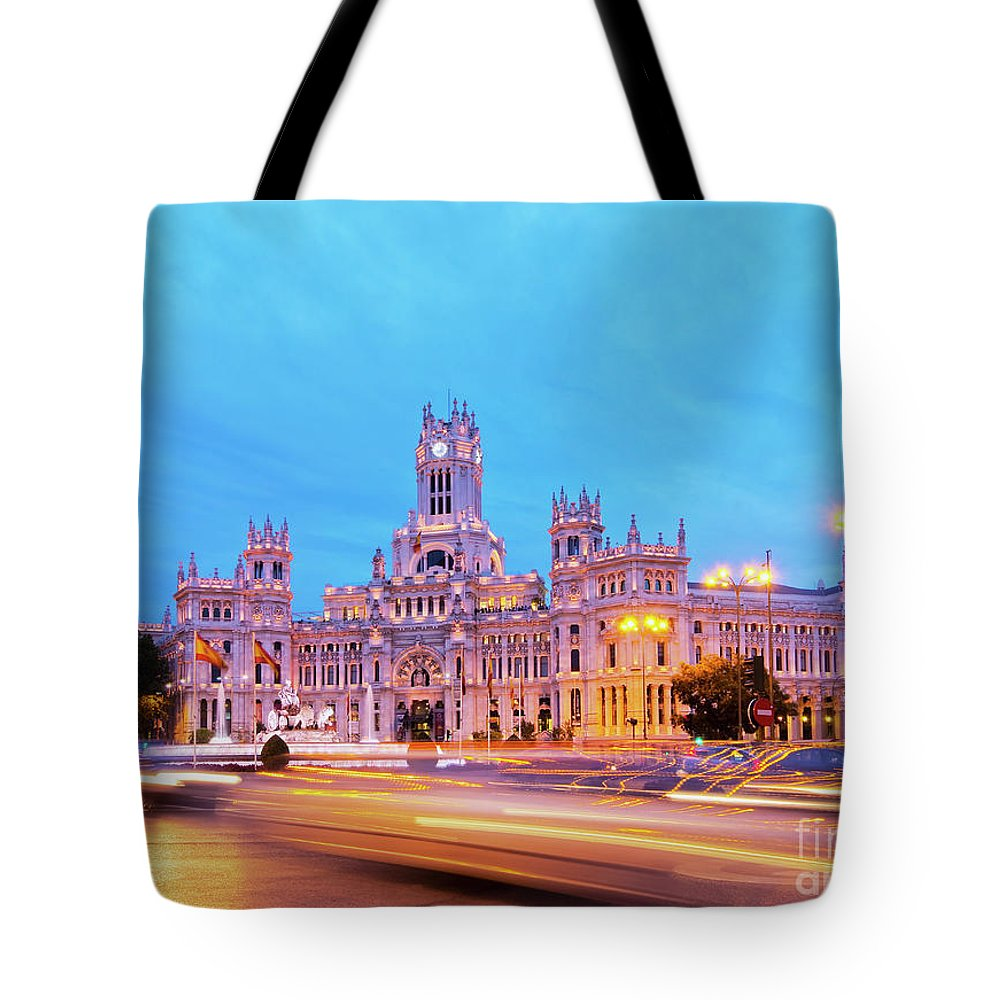 Spain Tote Bag featuring the photograph Madrid, Spain by Karol Kozlowski