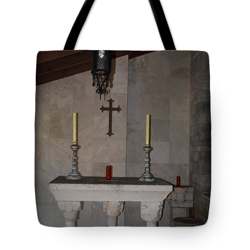 Architecture Tote Bag featuring the photograph Miami Monastery by Rob Hans