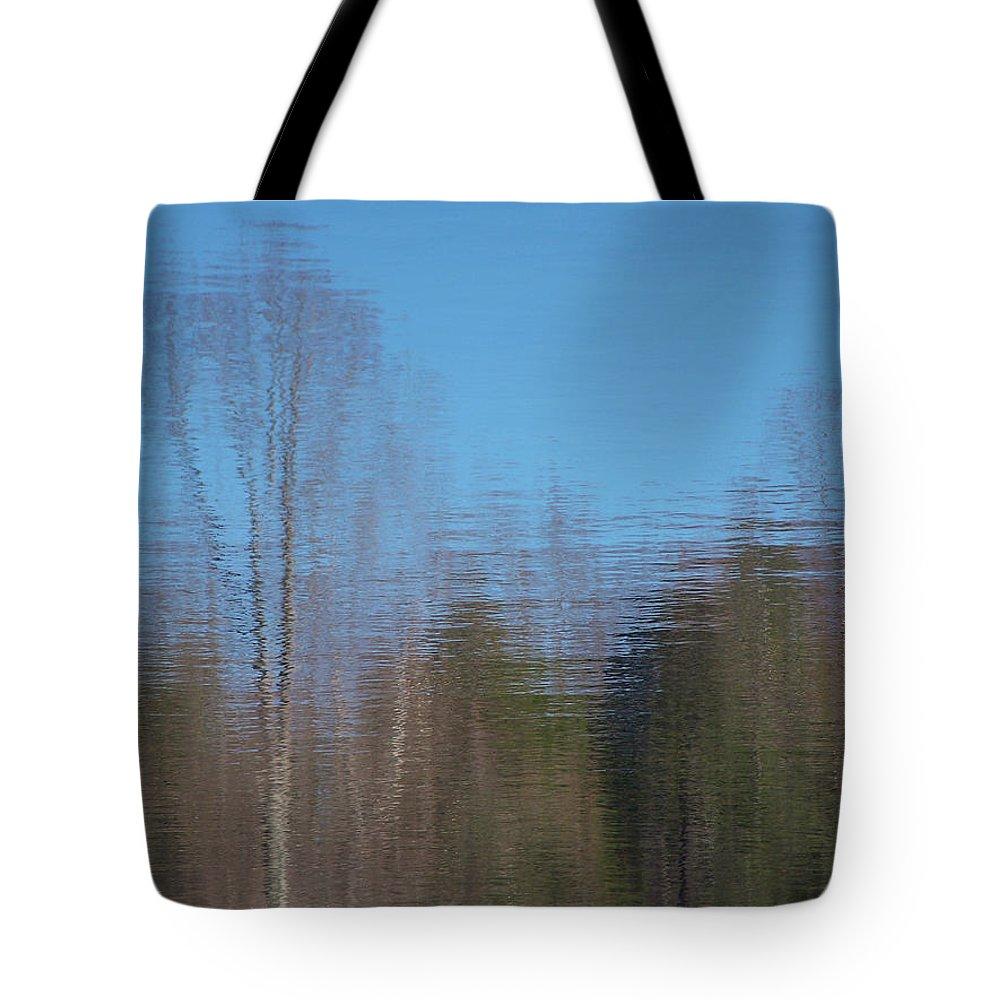 Reflections Tote Bag featuring the photograph 6002-reflections by Martha Abell