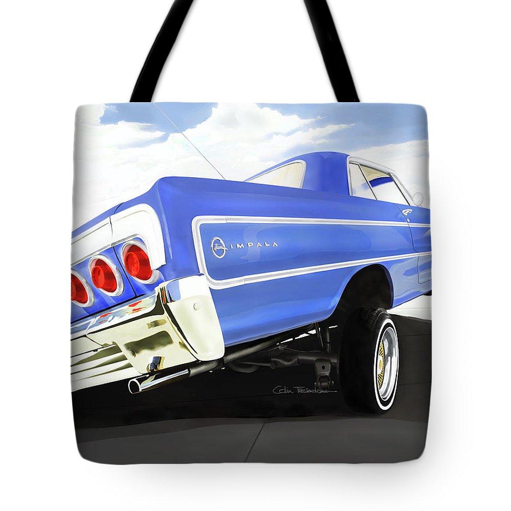 Arte Digital Art Tote Bags