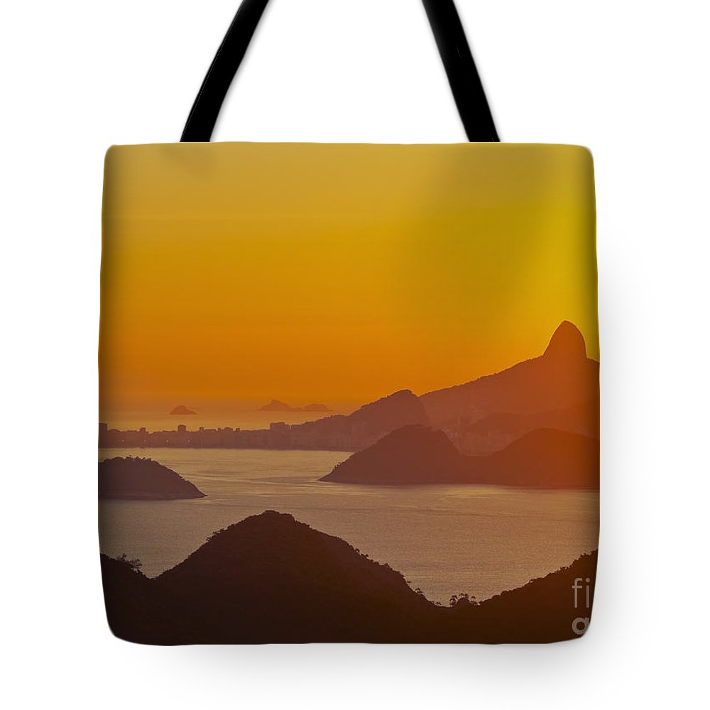 South America Tote Bag featuring the photograph Rio De Janeiro by Karol Kozlowski