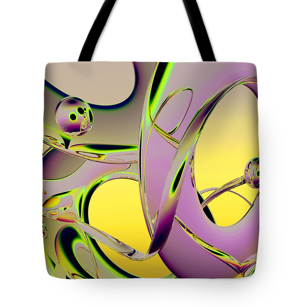 Scott Piers Tote Bag featuring the painting 6jkb by Scott Piers